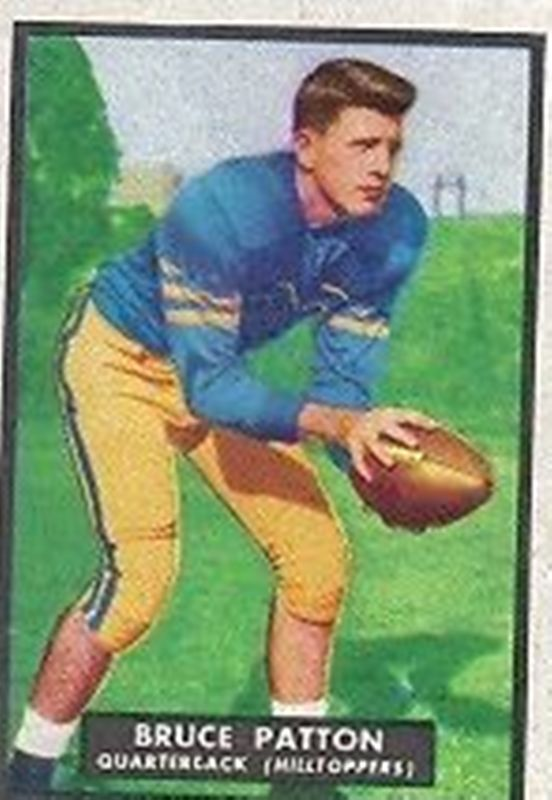 1951 Topps Magic #18 Bruce Patton RC