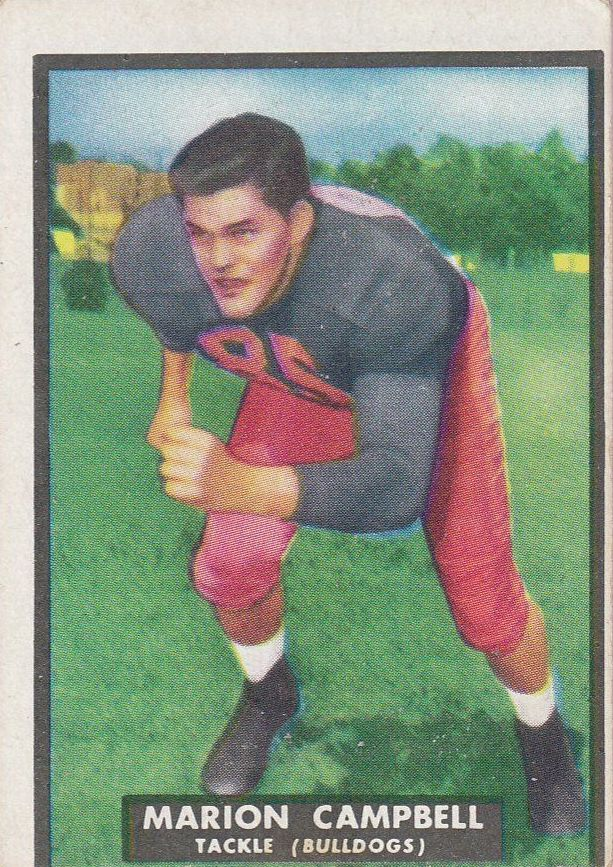 1951 Topps Magic #19 Marion Campbell RC