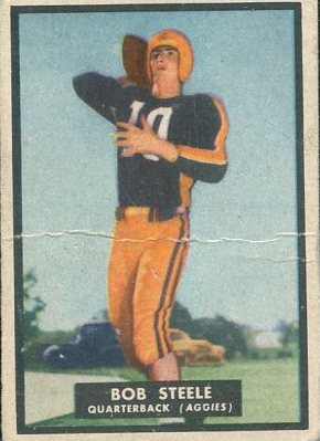 1951 Topps Magic #24 Bob Steele RC