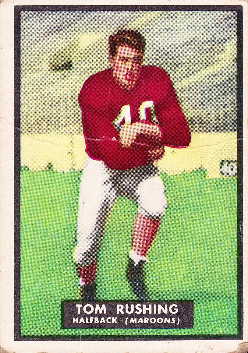1951 Topps Magic #29 Tom Rushing RC