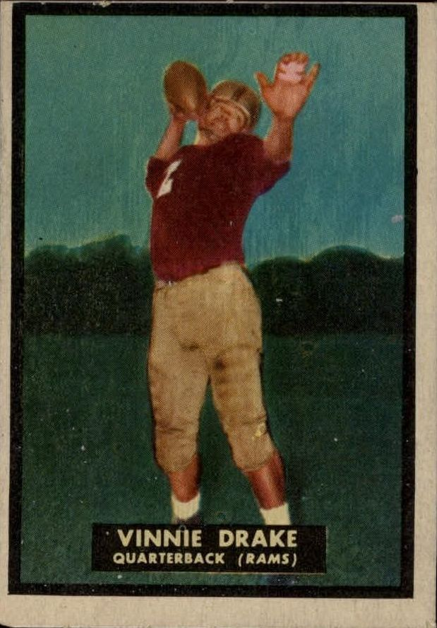 1951 Topps Magic #46 Vinnie Drake RC