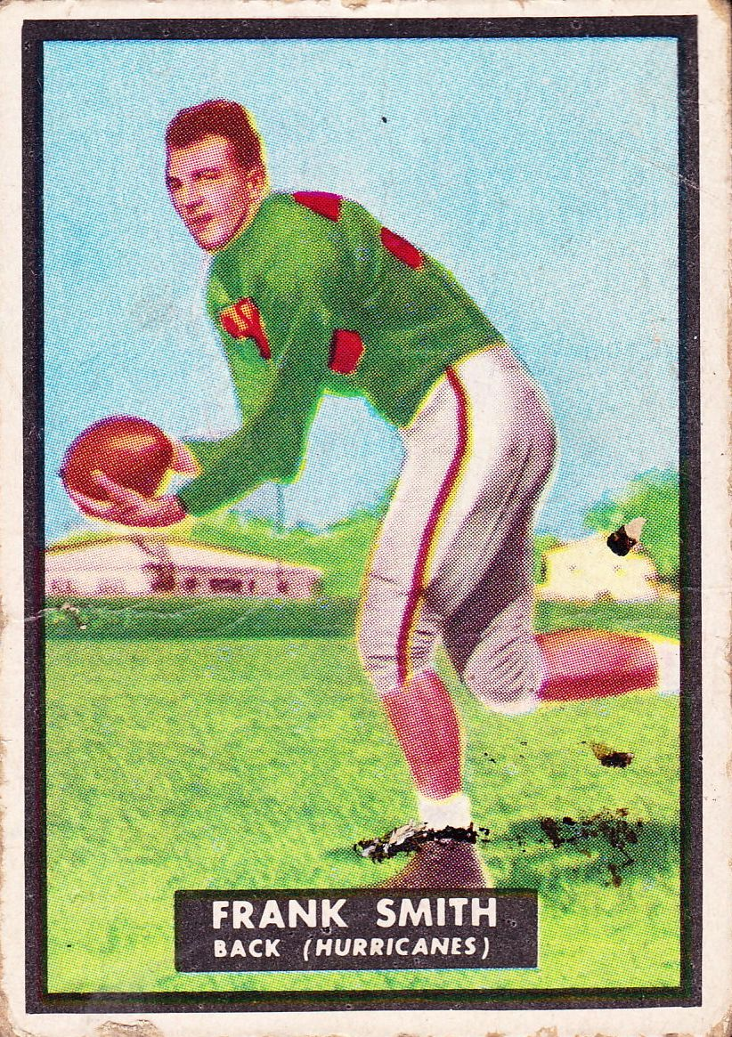 1951 Topps Magic #50 Frank Smith RC