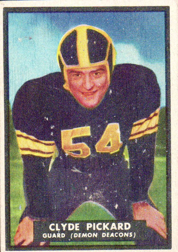 1951 Topps Magic #52 Clyde Pickard RC