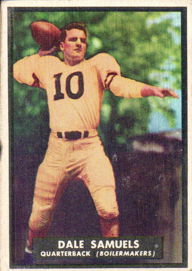 1951 Topps Magic #55 Dale Samuels RC