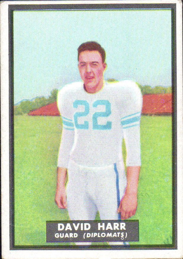 1951 Topps Magic #64 David Harr RC