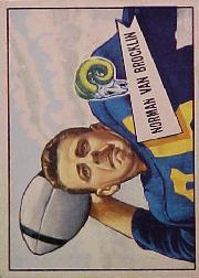 1952 Bowman Large #1 Norm Van Brocklin SP