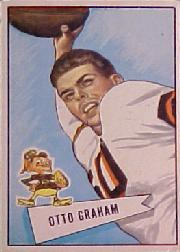 1952 Bowman Large #2 Otto Graham