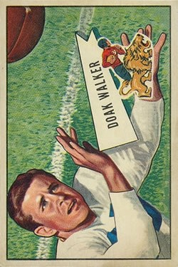 1952 Bowman Large #3 Doak Walker