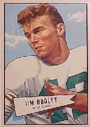 1952 Bowman Large #31 Jim Dooley RC