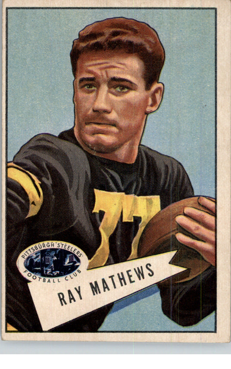 1952 Bowman Large #32 Ray Mathews