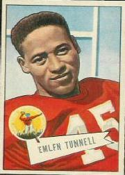 1952 Bowman Large #39 Emlen Tunnell