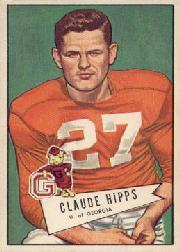 1952 Bowman Large #41 Claude Hipps RC