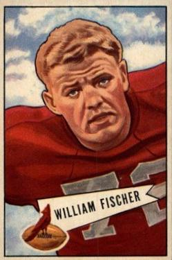 1952 Bowman Large #47 Bill Fischer
