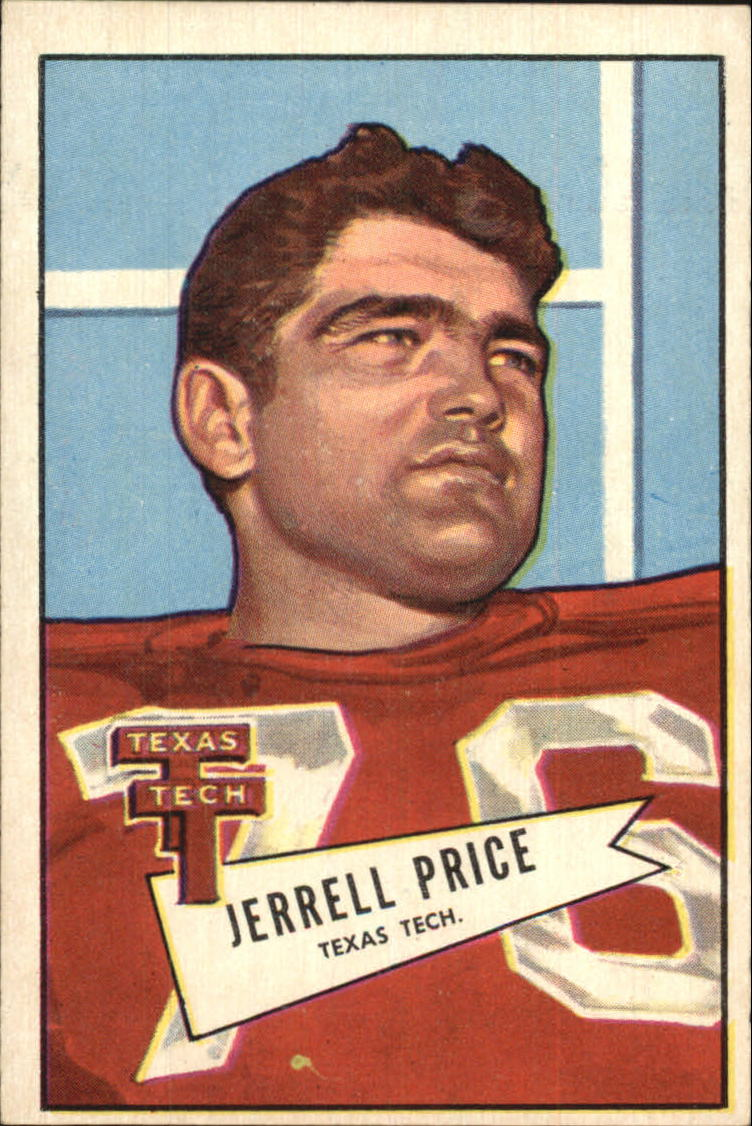 1952 Bowman Large #49 Jerrell Price