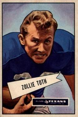 1952 Bowman Large #58 Zollie Toth