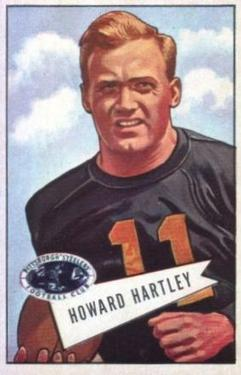 1952 Bowman Large #64 Howard Hartley SP