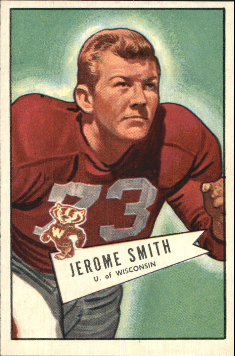 1952 Bowman Large #65 Jerome Smith RC
