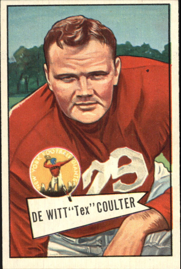 1952 Bowman Large #71 Tex Coulter