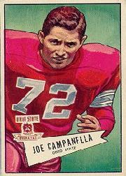 1952 Bowman Large #74 Joe Campanella RC