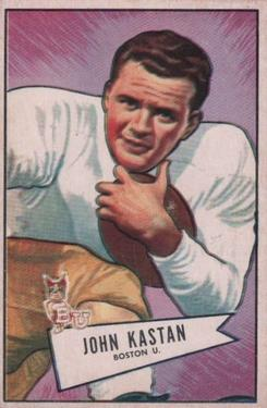 1952 Bowman Large #81 John Kastan SP RC