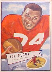 1952 Bowman Large #83 Joe Perry