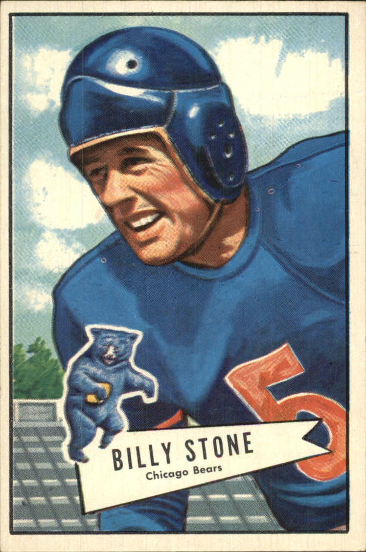 1952 Bowman Large #88 Billy Stone