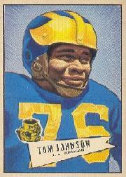 1952 Bowman Large #90 Thomas Johnson SP RC