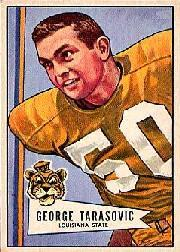 1952 Bowman Large #94 George Tarasovic RC
