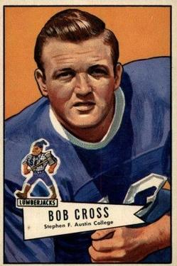 1952 Bowman Large #102 Bobby Cross RC