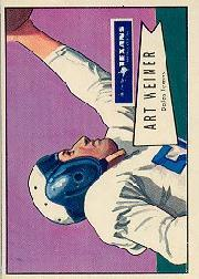 1952 Bowman Large #114 Art Weiner