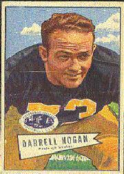 1952 Bowman Large #118 Darrell Hogan SP