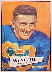 1952 Bowman Large #130 Dom Moselle RC