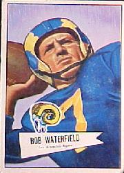 1952 Bowman Large #137 Bob Waterfield