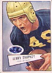 1952 Bowman Large #139 Jerry Shipkey