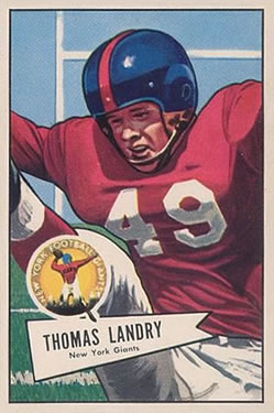 1952 Bowman Large #142 Tom Landry