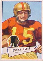 1952 Bowman Large #143 John Papit RC