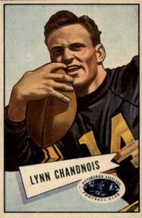 1952 Bowman Small #20 Lynn Chandnois