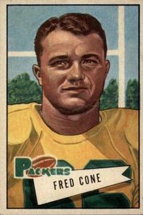 1952 Bowman Small #33 Fred Cone RC