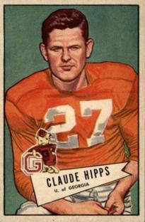 1952 Bowman Small #41 Claude Hipps