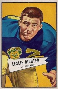 1952 Bowman Small #61 Les Richter RC