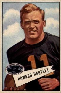 1952 Bowman Small #64 Howard Hartley
