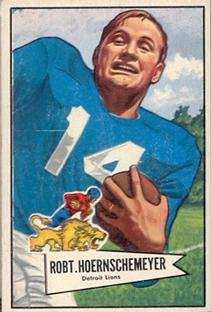 1952 Bowman Small #79 Bob Hoernschemeyer
