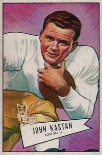 1952 Bowman Small #81 John Kastan RC
