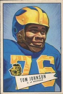 1952 Bowman Small #90 Thomas Johnson RC