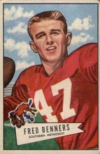 1952 Bowman Small #93 Fred Benners