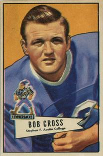 1952 Bowman Small #102 Bobby Cross RC front image