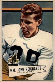 1952 Bowman Small #113 Bill Reichardt