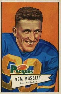 1952 Bowman Small #130 Dom Moselle RC