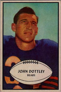 1953 Bowman #2 John Dottley