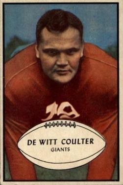 1953 Bowman #64 Tex Coulter SP